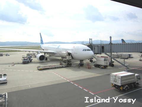 ガルーダ・インドネシア航空の飛行機
