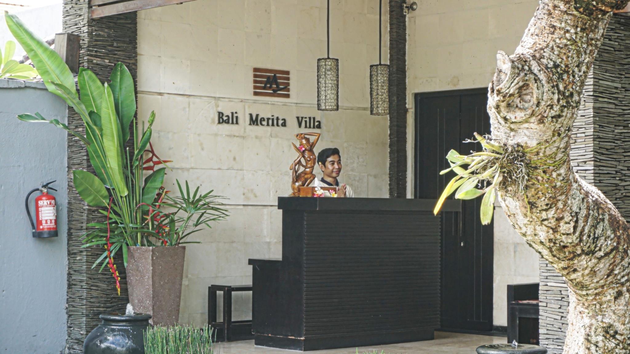 Bali Merita Villa ホテル詳細