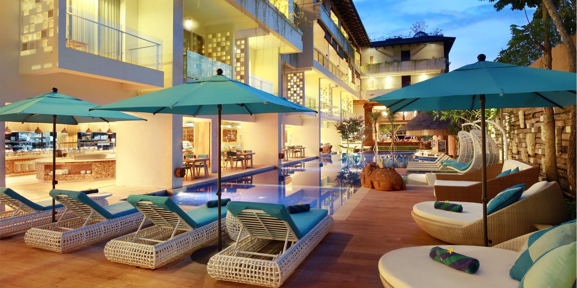 Jimbaran Bay Beach Resort & Spa by Prabu ホテル詳細