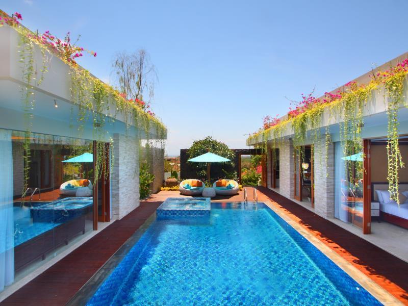 Nagisa Bali Bay View Villas ホテル詳細
