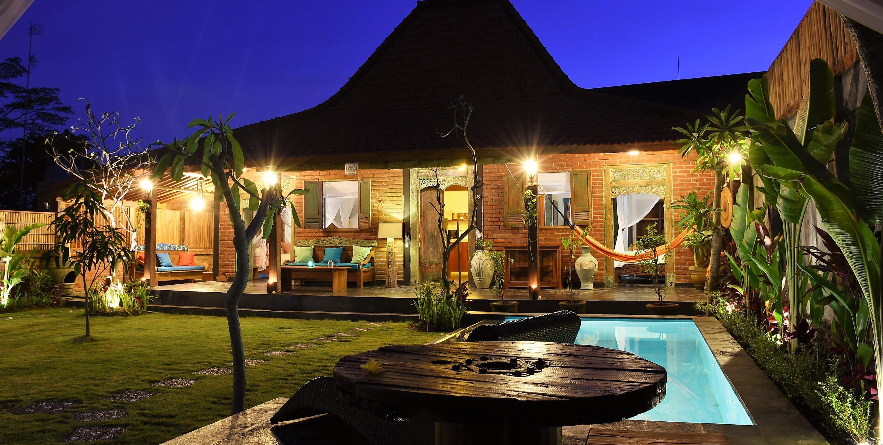 Kampung Coklat Villa Bali ホテル詳細